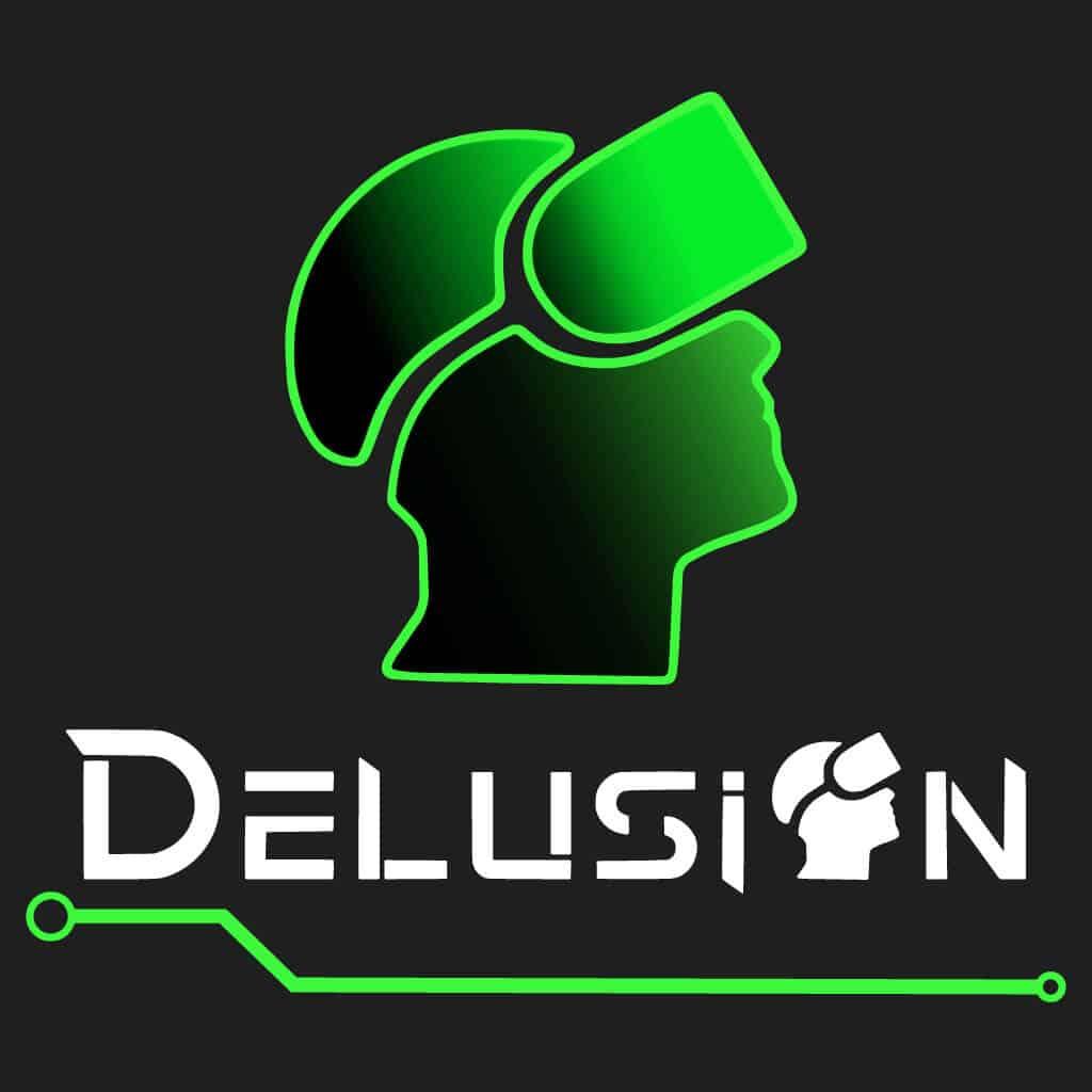 Delusion logo png