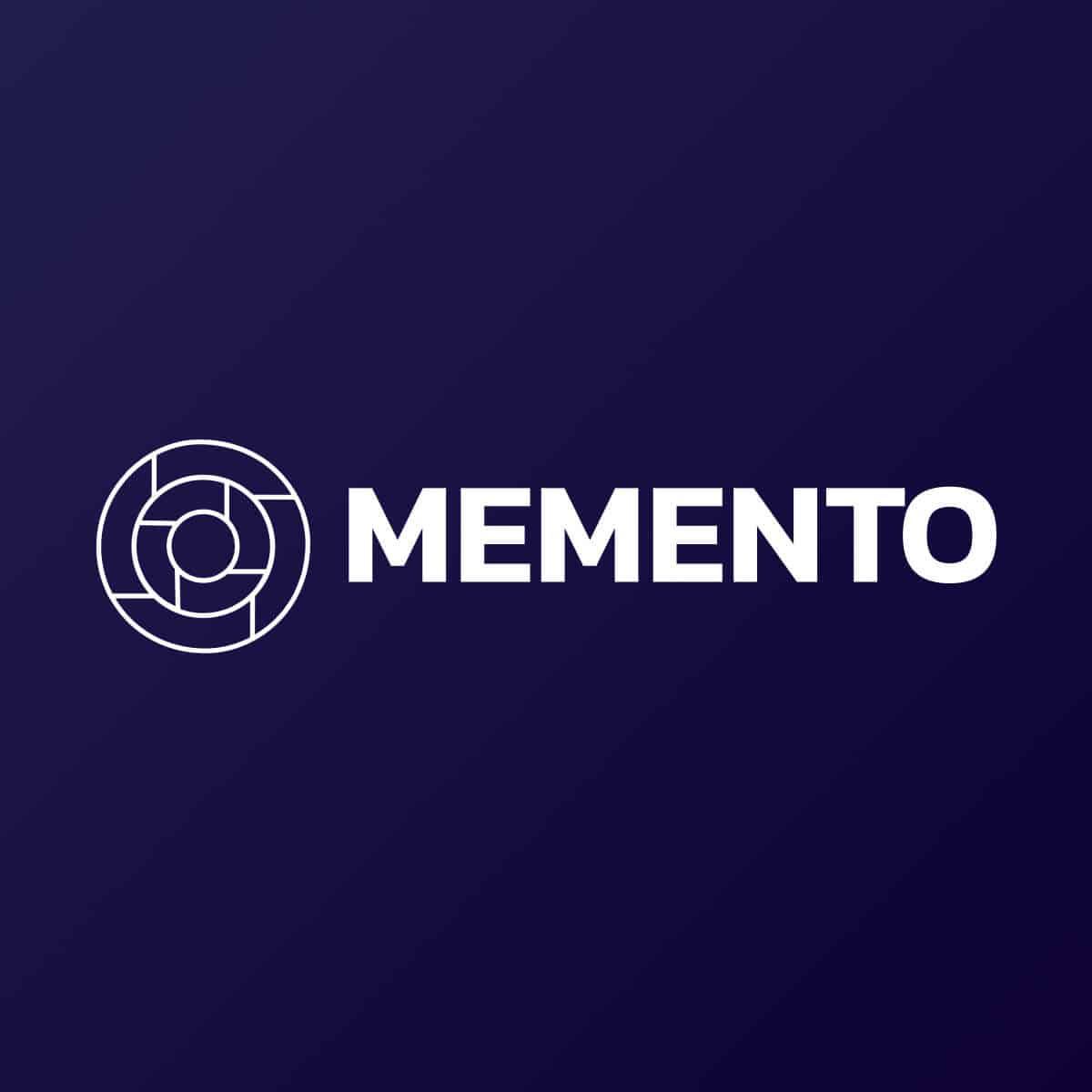 Memento Solution Logo Wacano