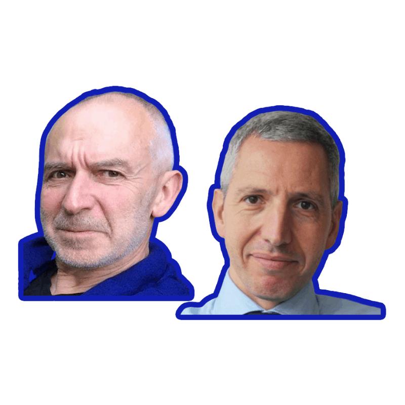 Pascal Pernot et Christophe Poupart Wacano