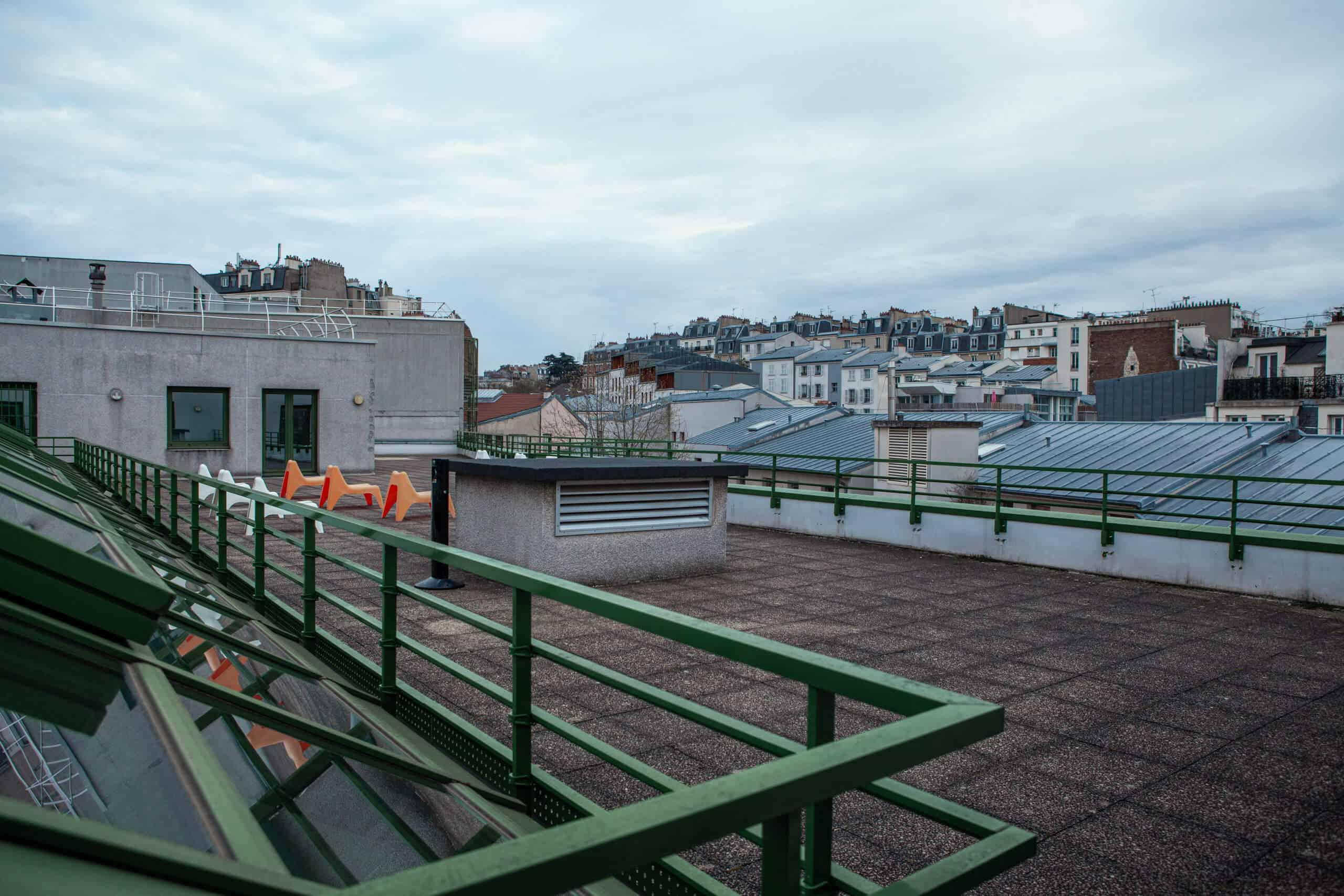 Rooftop Paris Soleillet Wacano